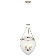 Belle Collection Belle 4 Light Foyer Pendant PN
