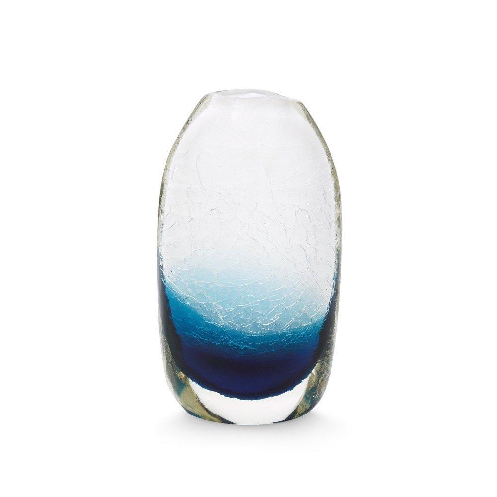 Adela Large Vase, Midnight Blue