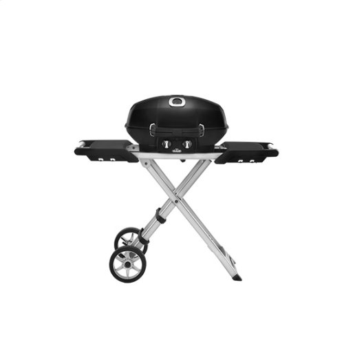 PRO 285X Portable Gas BBQ with cart in Black