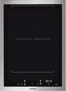 "Vario 400 series flex induction cooktop VI 422 611 Stainless steel frame Width 15"""