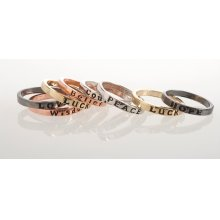 BTQ Mixed Metal Rings - Set of 8