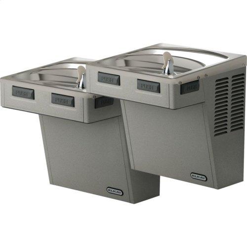 Elkay Wall Mount Bi-Level Reverse ADA Cooler, Non-Filtered 8 GPH Stainless