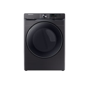 Samsung7.5 cu. ft. Smart Electric Dryer with Steam Sanitize+ in Black Stainless Steel