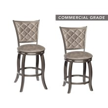 "Montello Swivel Counter Stool 22.8""x20.47""x40.06"""