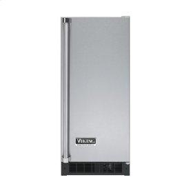 """Stainless Steel 15"""" Solid Door Beverage Center - VUAR (Right Hinge Solid Door)"""