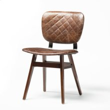 Quilted Havana Cover Sloan Dining Chair