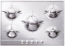 "72CM (approx 28"") ""Piano Design"" Gas Cooktop, Polished Stainless Steel*"
