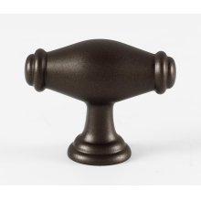 Charlie's Collection Oval Knob A626 - Chocolate Bronze
