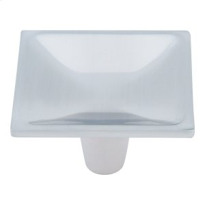 Dap Square Knob 2 Inch - Brushed Nickel Product Image