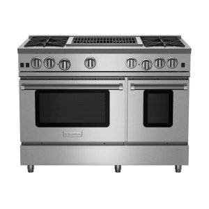 "Bluestar48"" RNB Series Range with 24"" Charbroiler"