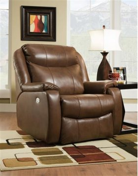 Leather Power Headrest Big Man Wallhugger Recliner (available in Fabric)
