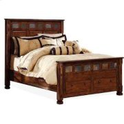 Santa Fe Queen Bed w/ Storage Product Image