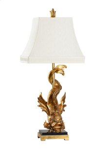 Imperial Dragon Lamp - Gold