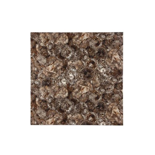Ducey Dark Brown Faux Marble Counter-height Table