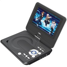 "9"" TFT LCD Swivel-Screen Portable DVD Player"