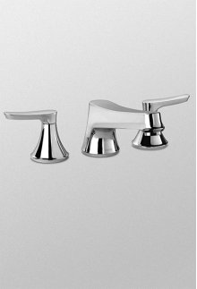 Brushed Nickel Wyeth™ Widespread Lavatory Faucet