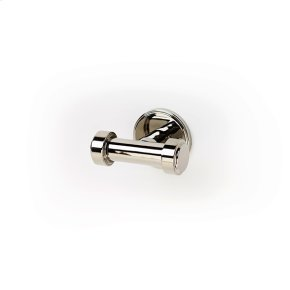 Double Robe Hook Darby (series 15) Polished Nickel