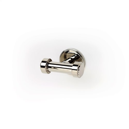 Double Robe Hook Darby Series 15 Polished Nickel