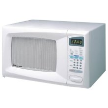 0.7 CuFt Microwave Oven/ 800watts/ Turntable/White