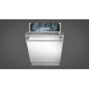 "Fulgor Milano24"" Integrated Dishwasher With Stainless Steel Exterior"
