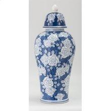 Remy Large Ceramic Decorative Lidded Jar