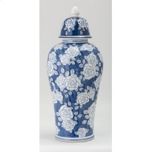 Remy Large Ceramic Decorative Lidded Jar