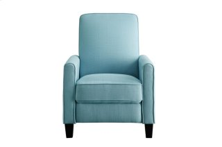 Push Back Reclining Chair, Blue