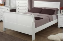 Bianco Bedroom : Bianco Queen Panel Sleigh Bed