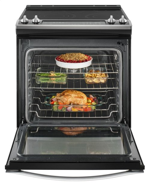 6.4 Cu. Ft. Slide-In Electric Range with True Convection