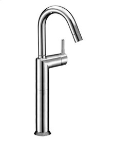 Single-hole high washbasin mixer
