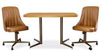 CH Table Top: Square Round (chestnut) Product Image