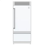 "Hestan36"" Pro Style Bottom Mount, Top Compressor Refrigerator - KRP Series - Froth"
