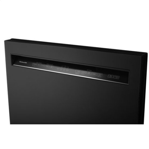 KitchenAid® 46 DBA Dishwasher with ProWash™, Front Control - Black