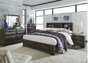 Queen Storage Bed, Dresser & Mirror, NS Product Image