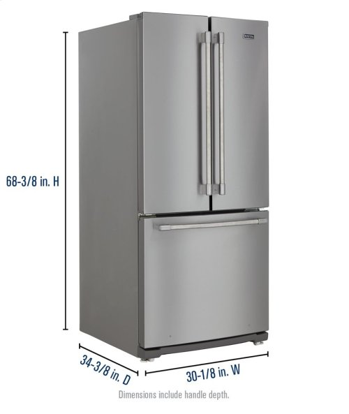 MAYTAG FRENCH DOOR FOUR PIECE PACKAGE
