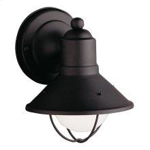 "Seaside 7.5"" 1 Light Wall Light Black"