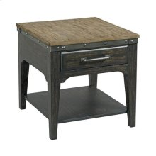 Plank Road Artisans Rect Drawer End Table