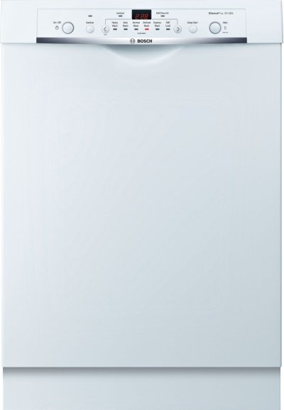 Ascenta Recessed Hndl, 6/2 Cycles, 50 dBA, Adj Rack - WH Product Image