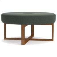 Logan Circle Ottoman Product Image