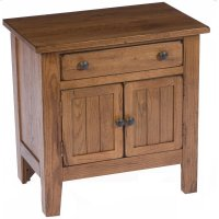 Attic Heirlooms Door Nightstand Product Image