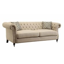 Trivellato Traditional Oatmeal Sofa