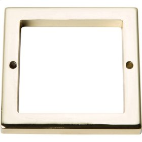 Tableau Square Base 2 1/2 Inch - French Gold