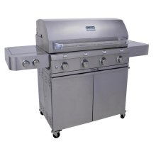 Stainless Steel 4-Burner Gas Grill