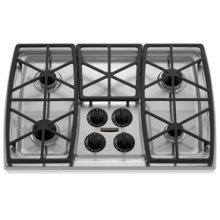 "4 Burners Porcelain-on-Steel w/ Matte Finish Cooktop Architect® Series Gas 30"" Width(Stainless Steel)"