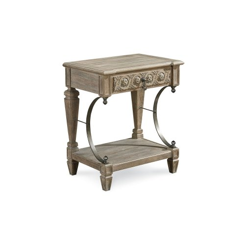 Arch Salvage Gabriel Bedside Table