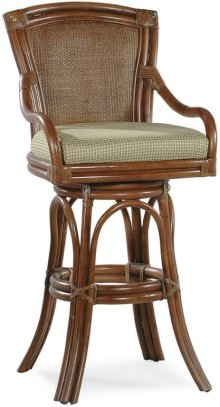 "Windjammer 30"" Swivel Barstool"