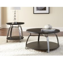 "Coham End Table, 23""x23""x23"""