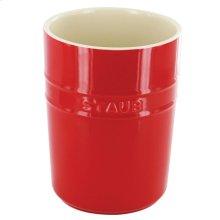 Staub Ceramics Utensil Holder, Cherry