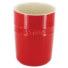 Staub Ceramics Utensil Holder, Cherry