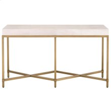 Strand Shagreen Console Table